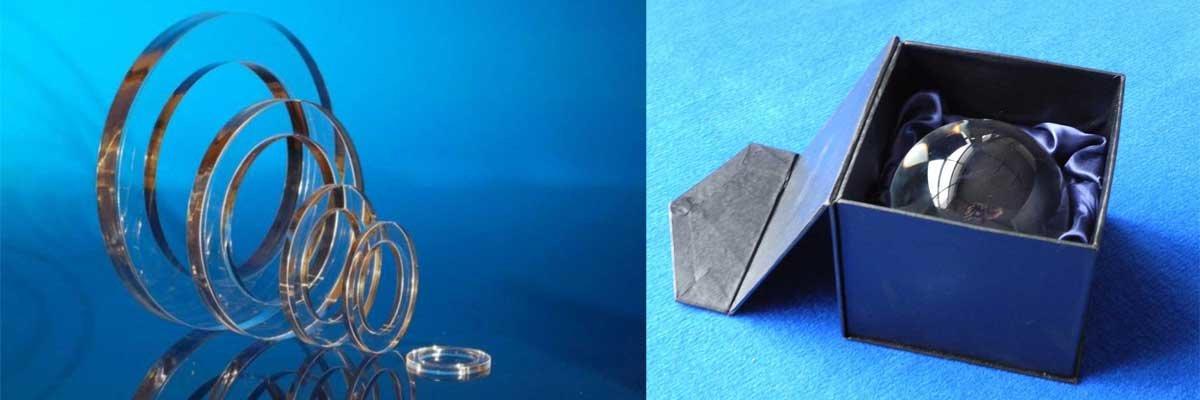 Die Acrylglas-Ringe eignen sich hervorragend...