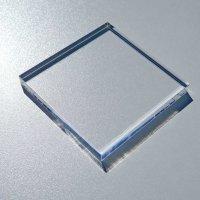 Restposten | Acryl-Block 100  x 100 mm - 10 mm Stärke