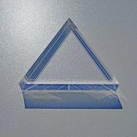 Restposten | Acryl-Dreieck 100 mm - 15  mm Stärke