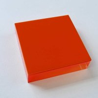 Restposten | Acryl-Block Sandwich 70 x 70 mm - farblos...
