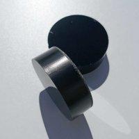 Restposten | Kreisscheibe aus Acrylglas schwarz Ø...