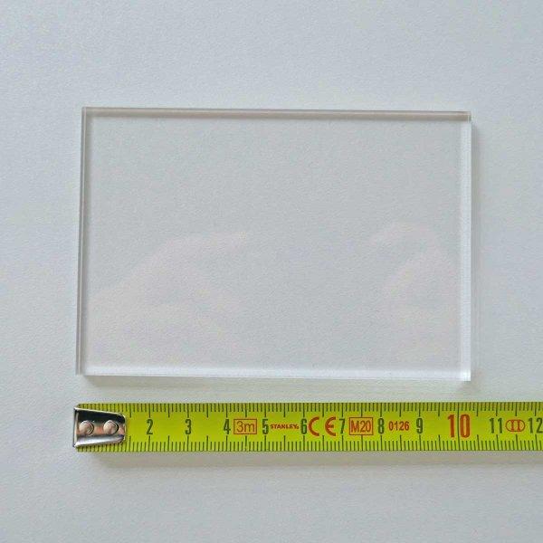 Restposten | Rechteck-Zuschnitt 103 x 71 mm - 5 mm Stärke