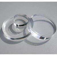 Restposten | Kreisscheibe - Ronde aus Acrylglas GS farblos | viele mit 15 mm Stärke