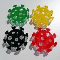 Virus - stilisiert | Deko passend zum Brettspiel...