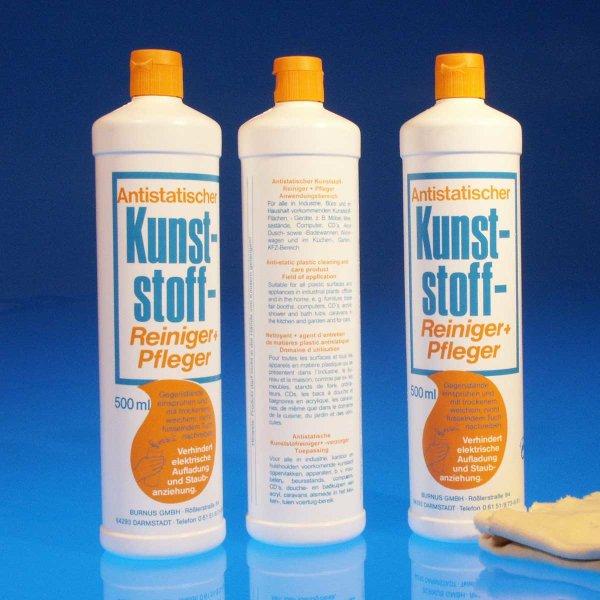 Antistatischer Kunststoff-Reiniger - 500 ml