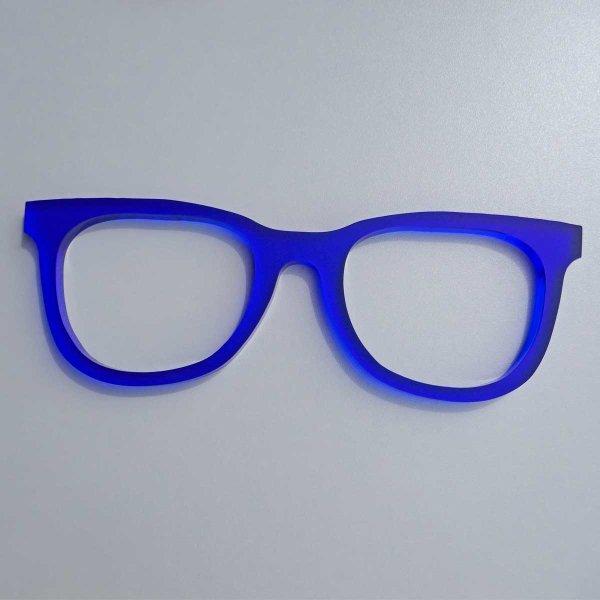b) 10 mm blau satiniced
