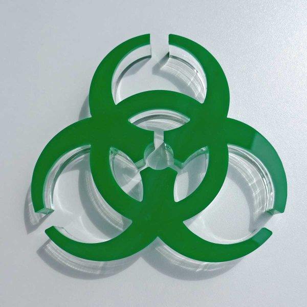 grün (3 mm) + klar (20 mm)