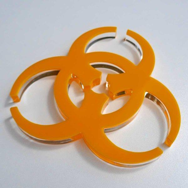 gelb (3 mm) + klar (10 mm)