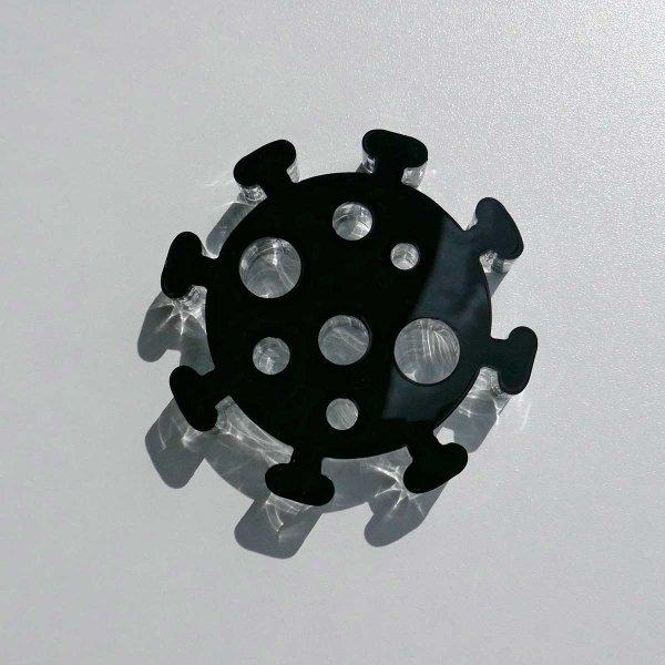 schwarz (3 mm) + klar (20 mm)